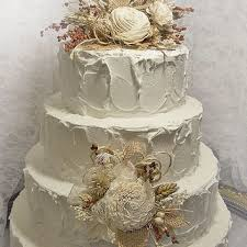 Best Burlap Flowers For Wedding Cake Products On Wanelo