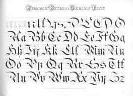 Old English Williams And Packards Church Text This Inspired C Lees Ornate Alphabet Beveled Ribbon Continued