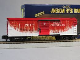 Lionel American Flyer 2017 Christmas Boxcar Train