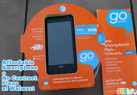 Affordable Smartphone and No Contract Plans at Walmart with AT&T