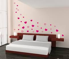 herzen herz schlafzimmer liebe wandtattoo wand aufkleber