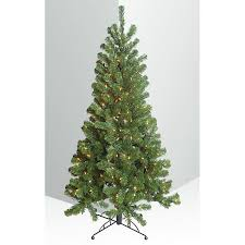 75 Ft PreLit LED Natural Noble Fir Artificial Christmas Tree With