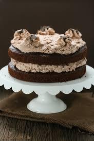 Whole wheat chocolate mousse cake