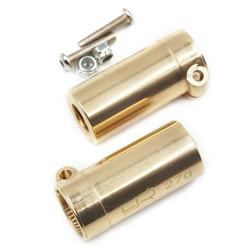 Yeah Racing New Yeah Racing Axsc-007 Brass Rear Axle Lock Out (2) SCX10 II Free US Ship