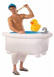 Inflatable Bathtub For Adults by Inflatable Man In Tub Costume