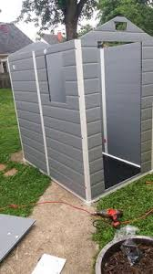 Keter Stronghold Shed Assembly by Keter Manor 4 U0027 X 6 U0027 Resin Storage Shed All Weather Plastic