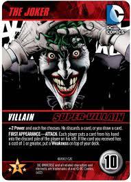 dc comics deck building game cryptozoic entertainment