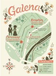 Wedding Invitation Map For A Awesome Design With Layout 1