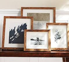Pottery Barn Rustic Wood Gallery Frames 7 Pretty Picture Frames…