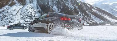 BMW SNOW DRIFT TRAINING