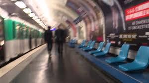 Paris metro open doors by yourself