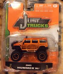 Buy Jada 1:64 Just Trucks 2006 Hummer H1 Metallic Grey/Black Top ...