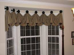 living room valances and swags curtains and valances ideas for