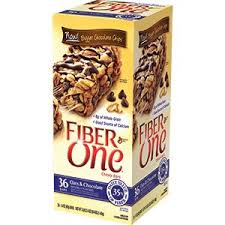 Fiber One Chewy Bars Oats Chocolate 36 Of 14 Oz