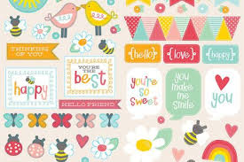 Needle Scrapbook Designs Printable Stickers Love Romantic And Beautiful Free Printables Handdrawn Labels