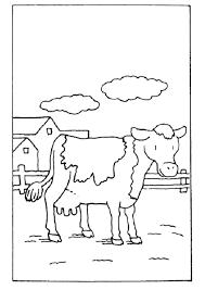 Coloriage Vache Portrait à Imprimer Pour Les Enfants Dessin