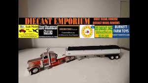100 Diecast Promotions Trucks DieCast Peterbilt 389 Sleeper Truck With Wilson