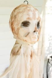 Outdoor Halloween Decorations Diy by Diy Outdoor Halloween Decorations Hanging Mummy Ghost