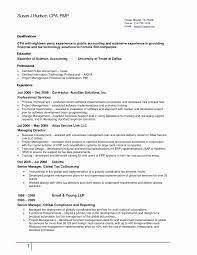 Sample Resume For Tax Accountant Fresh Attractive State Embellishment Simple