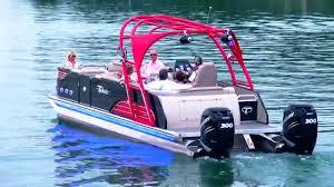 Pontoon Boat Sinks Nj by 2015 Avalon Ambassador Twin Engine Sizzle Got Water Youtube