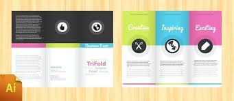 Free Fold Brochure Design 3 Template Word 2010
