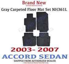 Honda Accord Floor Mats 2007 by Rear Car U0026 Truck Floor Mats U0026 Carpets For Honda Accord Ebay