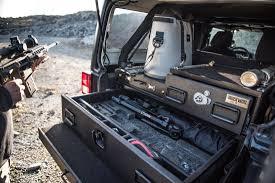 100 Truck Bed Gun Storage Tactical Vault