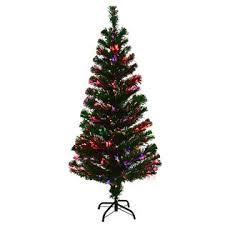 4 Ft Pre Lit Christmas Tree by Goplus 4ft Pre Lit Fiber Optic Artificial Christmas Tree W