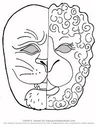 Printable Coloring Sheets For March Lion And Lamb Pages Free