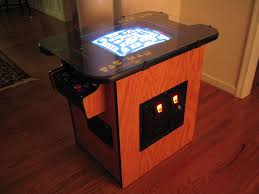 Galaga Arcade Cabinet Kit by Currygoat U0027s Pac Man Cocktail Arcade Cabinet