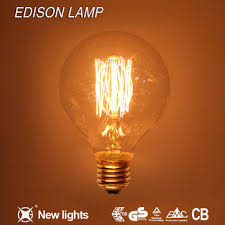 antique filament edison light bulb g80 g95 g125 edison style