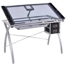 Table Drafting Design Drawing Desk Board Adjustable Storage Art Artist Architect