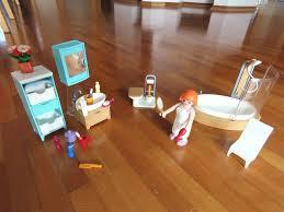 playmobil 5330 badezimmer sehr gut erhalten haus einrichtung