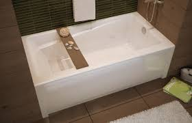 Modern Bathroom Rugs And Towels by Decor Modern Bathroom With Maax Bathtubs And Tile Walls Also