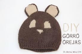 DIY C³mo hacer gorro de lana con orejas para bebe