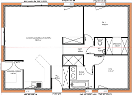 plan de maison 2 chambres maison plain pied 2 chambres immobilier pour tous immobilier
