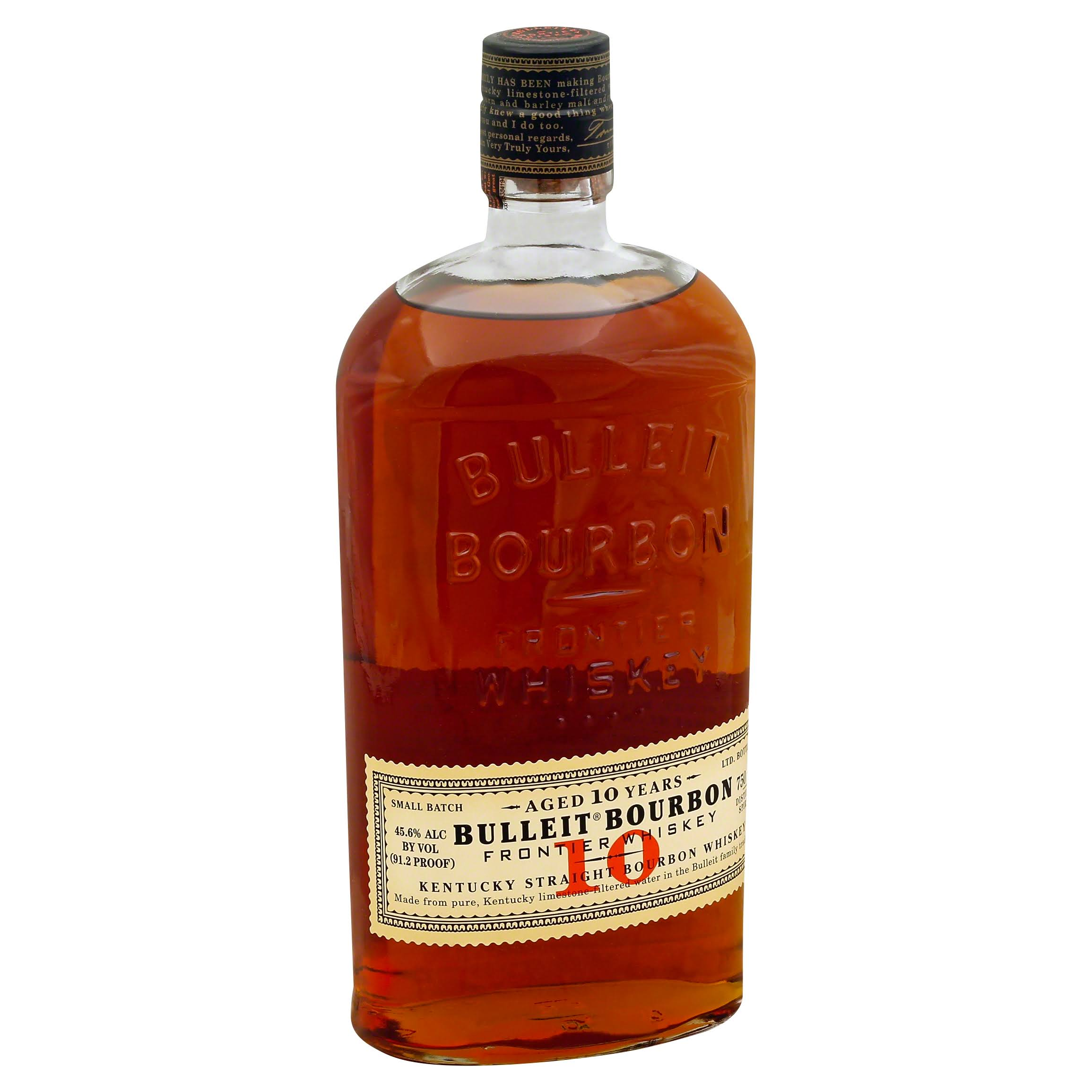 Bulleit Whiskey, Kentucky Straight Bourbon - 750 ml