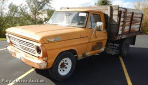1969 Ford F350 Flat Dump Bed Pickup Truck | Item DF1910 | SO...