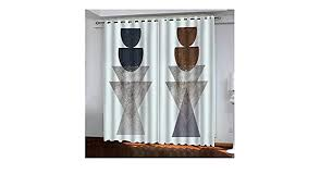 aeici vorhänge blickdicht wohnzimmer vorhang mit ösen