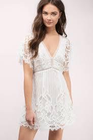 white skater dress lace dress white dress c 97
