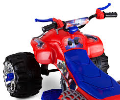 Kid Trax Marvel Spider-Man 12V Quad Red Blue Battery Powered Ride On ... Outdoor 6v Kids Ride On Rescue Fire Truck Toy Creative Birthday Amazoncom Kid Trax Red Engine Electric Rideon Toys Games Kidtrax 12 Ram 3500 Pacific Cycle Toysrus Kidtrax 12v Ram Vehicles Cat Quad Corn From 7999 Nextag 12volt Captain America Motorcycle Walmartcom Dodge Mods New Brush Licensed Find More Power Wheel Ruced 60 For Sale At Christmas Holiday Car Fireman 12v Behance