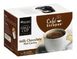 Hurry Free Box Of Cafe Escapes Hot Cocoa K Cups
