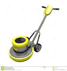 Floor Buffer Polishers Home Use by Floor Buffer 3d Render Stock Images Image 27734334