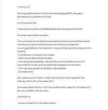 Tutor Resume Example Download Sample Skills