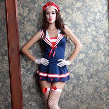 Womens Ladies Retro Navy Marine Sailor Costume Theme Party Fancy Dress Outfit