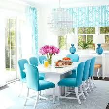Blue Green Dining Chairs Coastal Living Magazine Room Ideas For Apartments