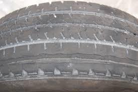 un pneu énervé
