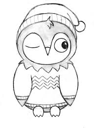 Easy Drawing Of An Owl Cute At Getdrawings