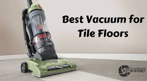 vacuum for tile floors