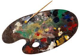 Palette Oil Painting Transparent PNG